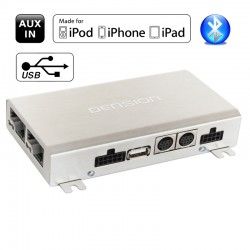 Dension Gateway 500S BT - USB Bluetooth iPhone aux-in adapteris automobiliams su optinėmis jungtimis