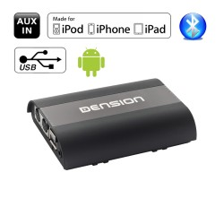 Dension PRO BT - USB Bluetooth iPhone aux-in audio interface