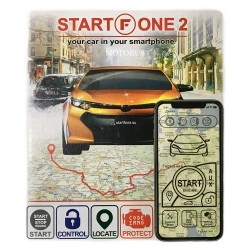 StartFone 2 - GSM CAN bus alarm system with remote engine start