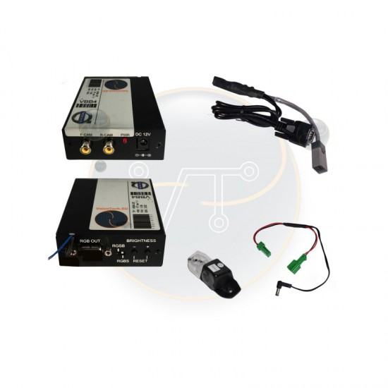 VBB4 - atbulinės eigos kamera ir video adapteris Volvo