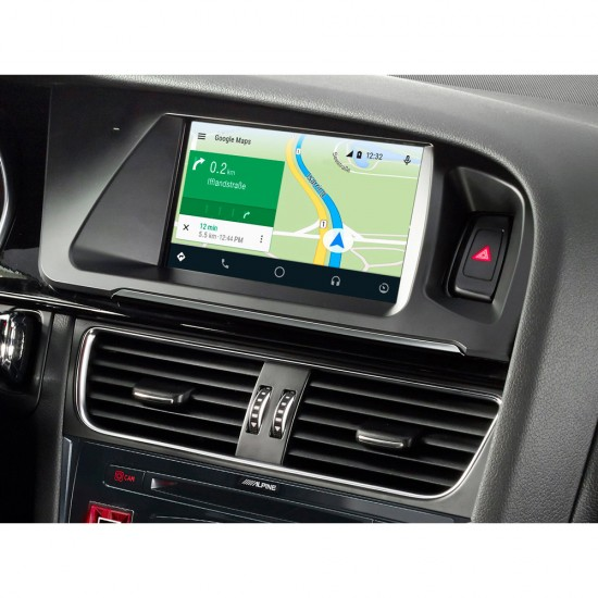 ALPINE X702D-Q5 - AUDI Q5 Touch Screen Navigation