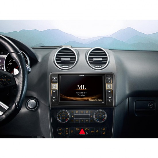 ALPINE X800D-ML – Premium Infotainment System for Mercedes-Benz ML (W164) and GL (X164)