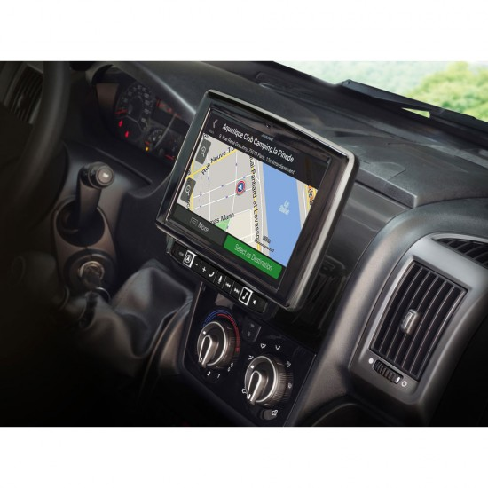 "ALPINE X902D-DU - 9"" Touch Screen Navigation for Fiat Ducato 3, Citroën Jumper 2 and Peugeot Boxer 2"