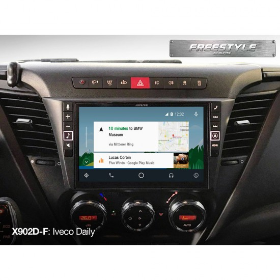 ALPINE X902D-F - Freestyle 9-inch Navigation System