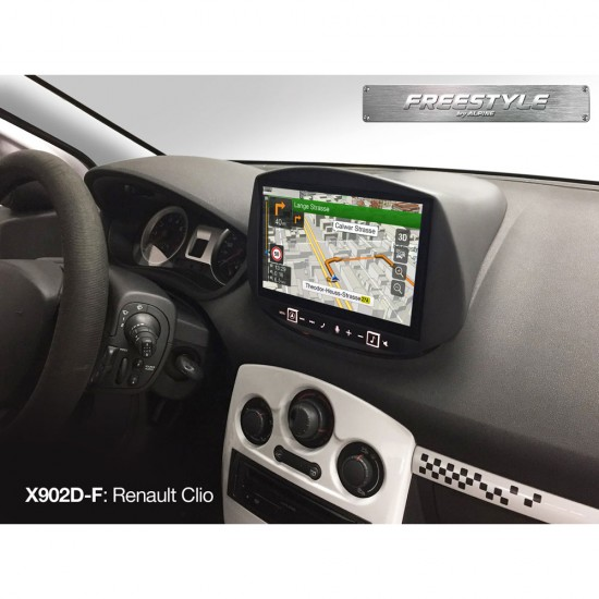 ALPINE X702D-F - Freestyle 7-inch Navigation System