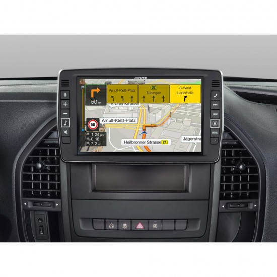 "ALPINE X902D-V447 - 9"" Touch Screen Navigation for Mercedes Vito V447"