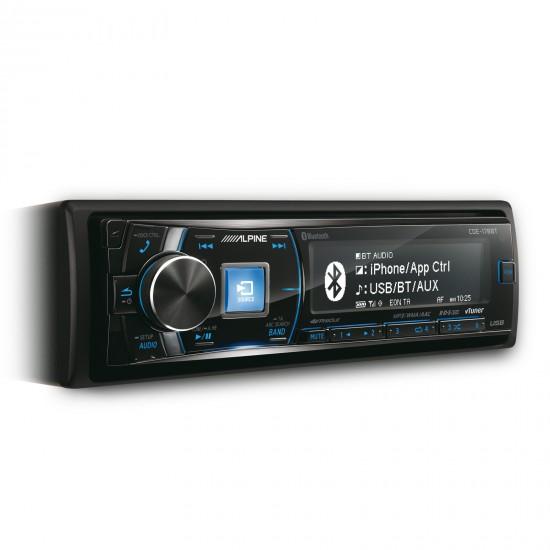ALPINE CDE-178BT - Radijo imtuvas su CD, USB ir pažangiu Bluetooth