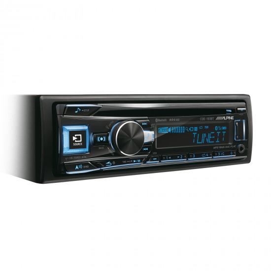ALPINE CDE-193BT - Radijo imtuvas su CD/USB ir pažangiu Bluetooth