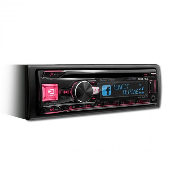 ALPINE CDE-195BT - Radijo imtuvas su CD/USB ir pažangiu Bluetooth