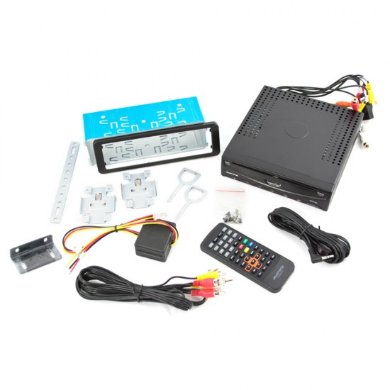 AMPIRE DVX-203 - 1DIN DVD Player with USB and HDMI