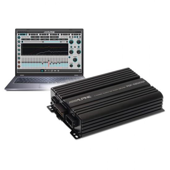 ALPINE PDP-E802DSP – 8 Channel Digital DSP Amplifier