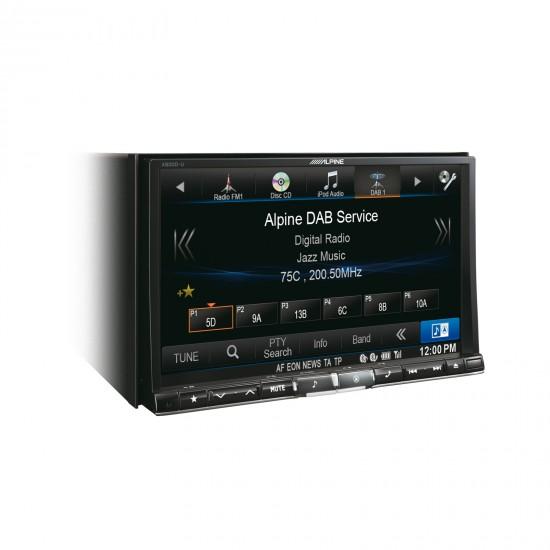 ALPINE X800D-U - pažangioji navigacijos sistema